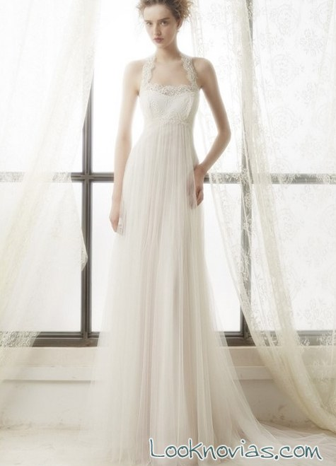 vestido de seda por Bundó