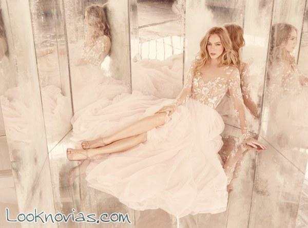 Otoño 2015 en los vestidos para novia Hayley Paige