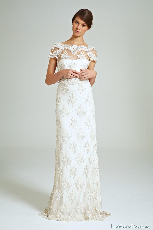 vestido dinnigan con bordados