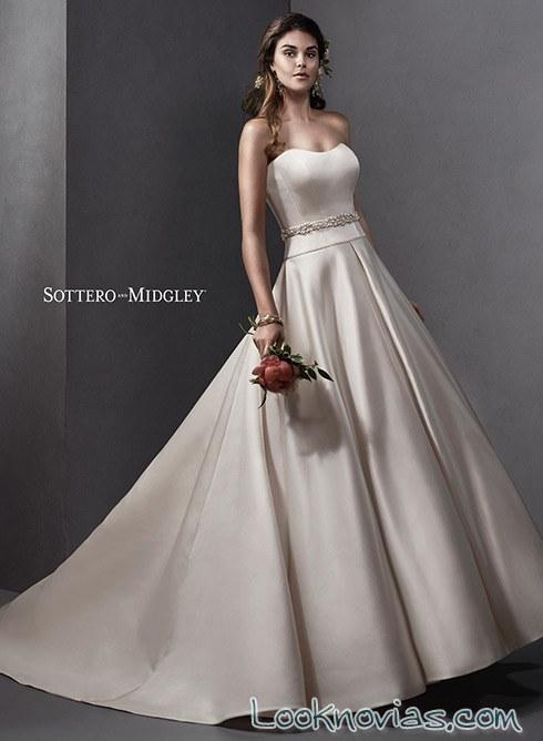 vestido dos piezas sottero and midgley