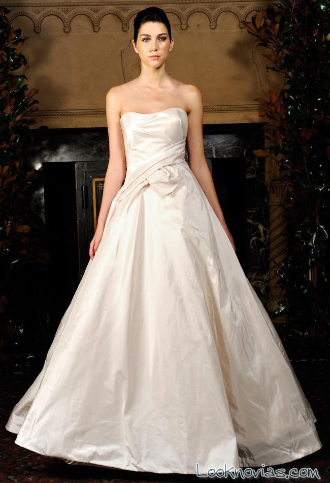 vestido elegante para novias de austin scarlett