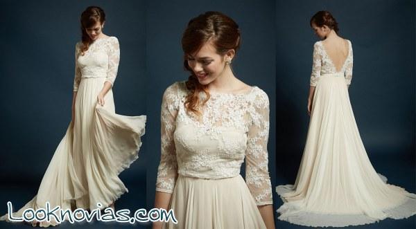Rebecca Schoneveld y sus tres vestidos de novia