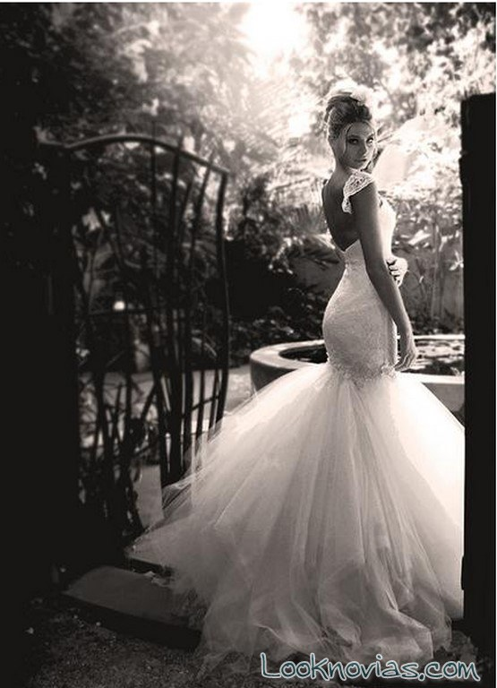 vestido escote encaje lauren elaine