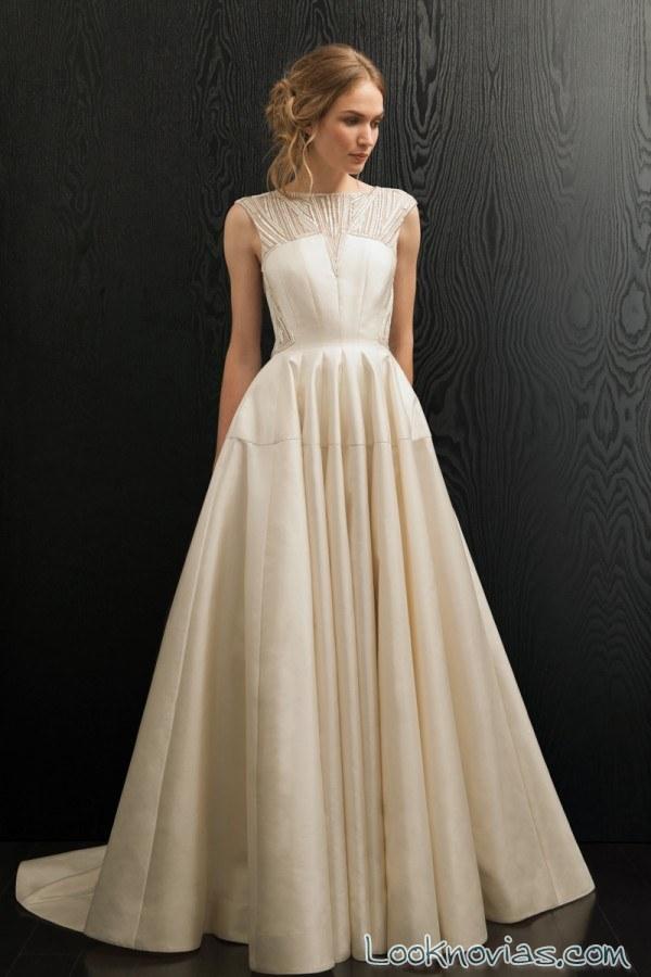 vestido evasé amanda wakeley