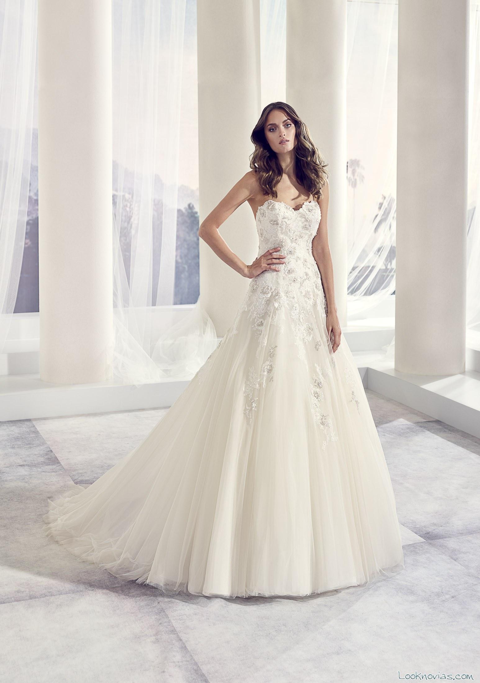 vestido falda novia comodo