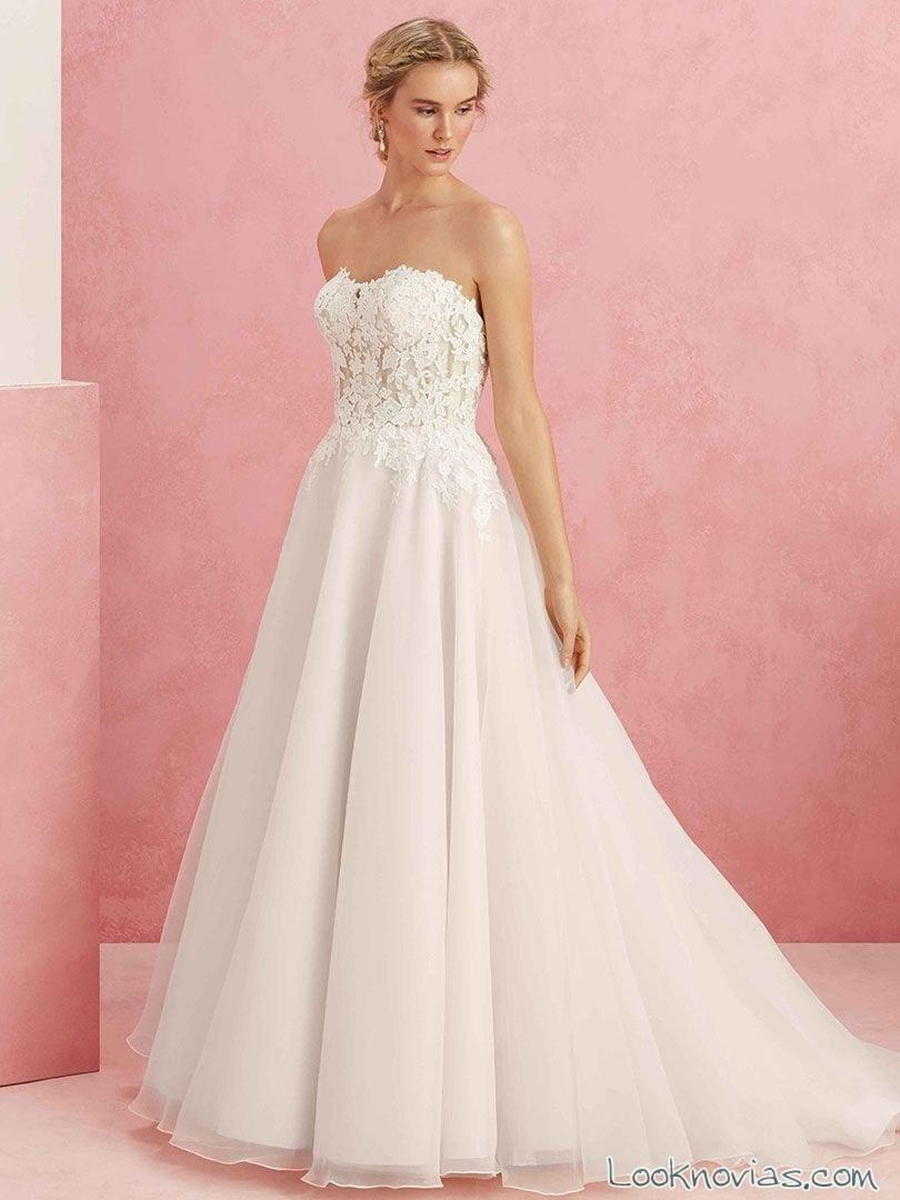 6 Vestidos para novia de la colección Beloved