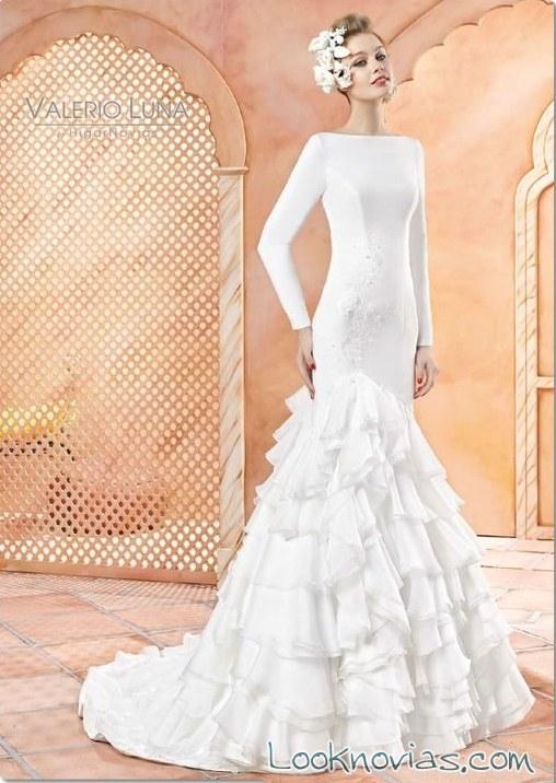 vestido flamenco valerio luna