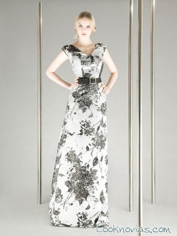 vestido floral de franco quintans