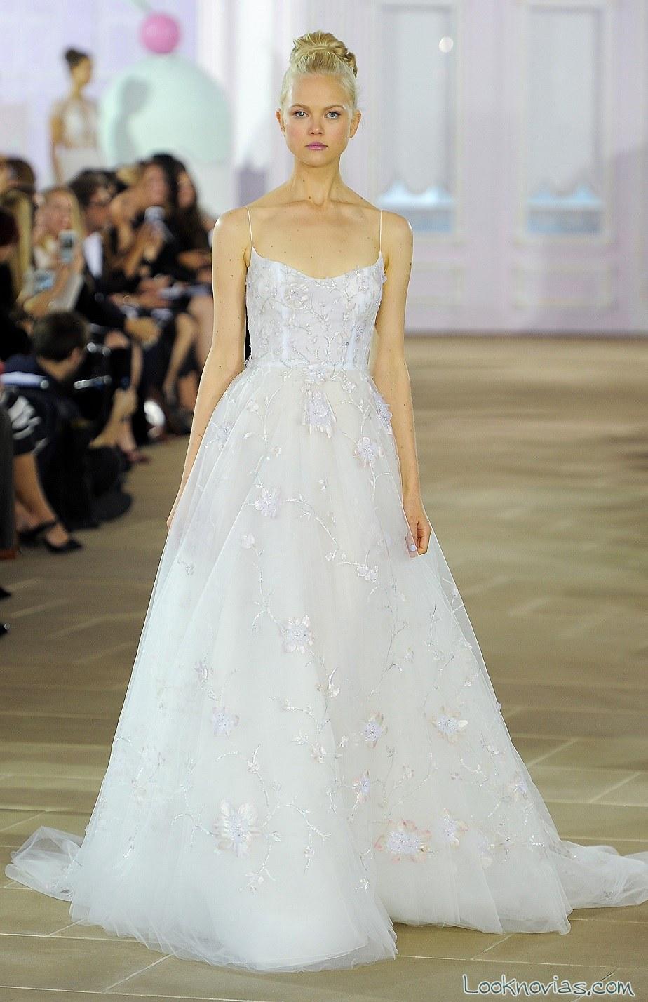 vestido inés di santo strapless 2017