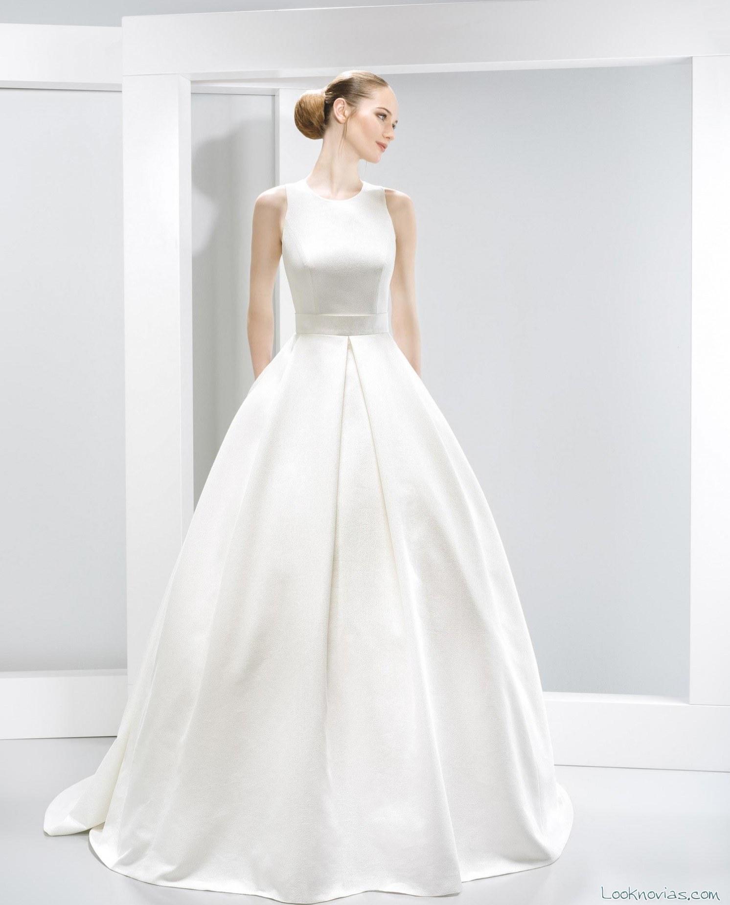 vestido jesús peiró 2016 minimalista