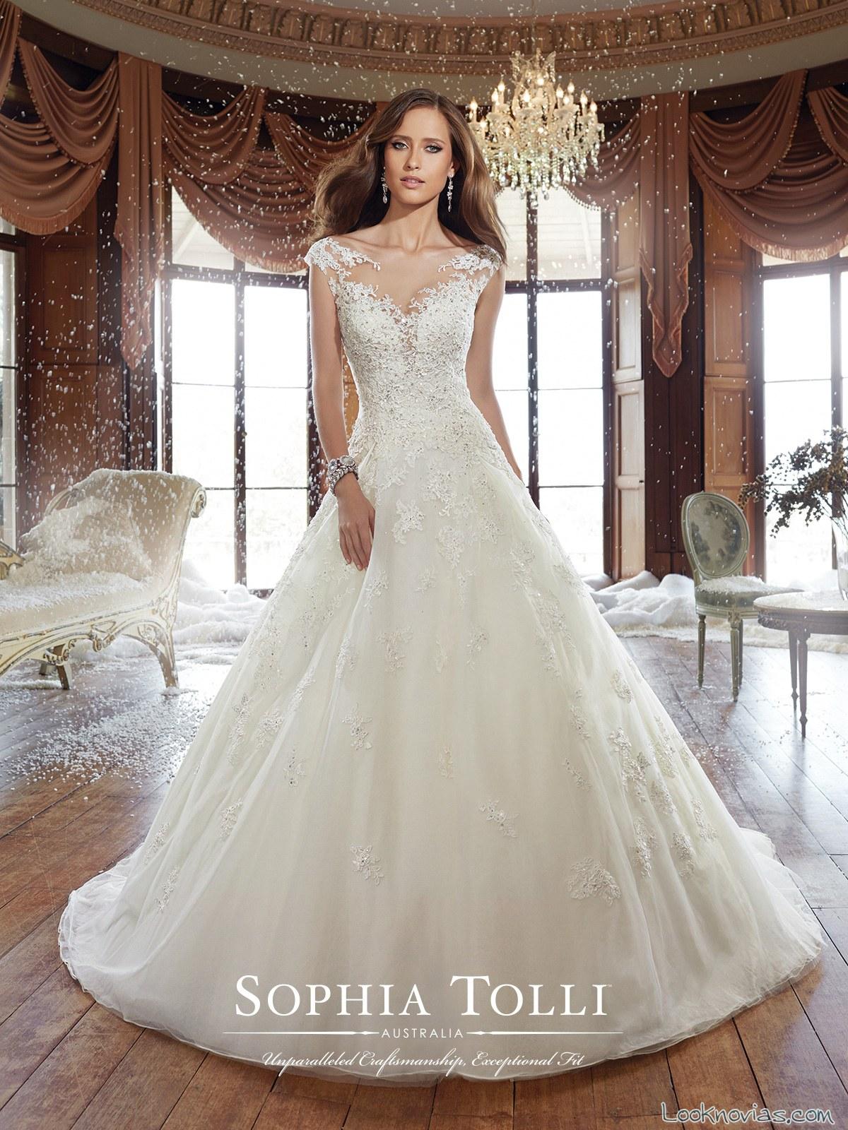 vestido largo nueva colección sophia tolli