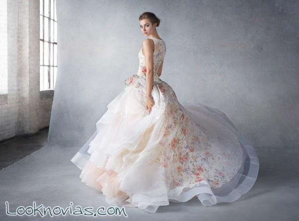 Vestidos sofisticados para novias Lázaro