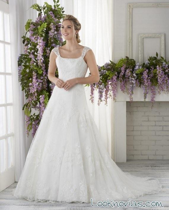 vestido novia bonny bridal tirantes