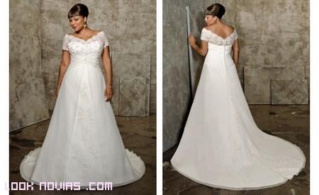 Vestidos de novia tallas grandes mexico