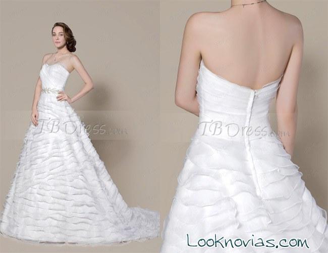 vestido novia oferta