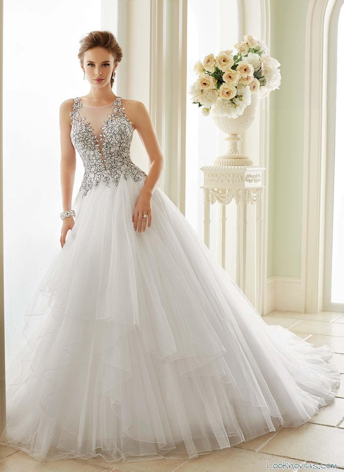 vestido novia princesa sophia tolli