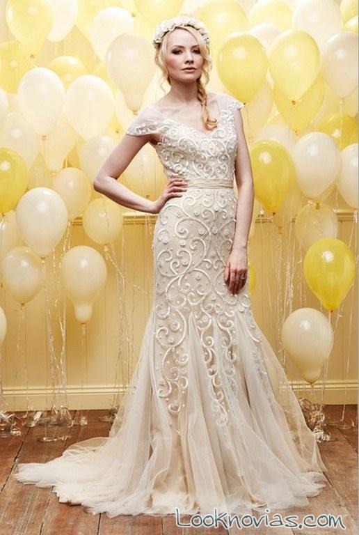 vestido novia recto daisy bridal