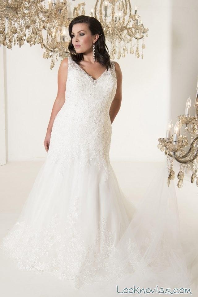 vestido novias callista recto