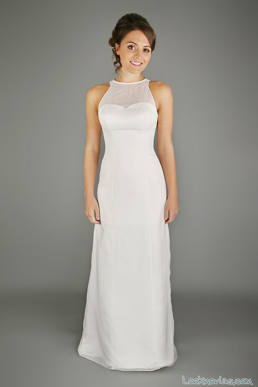 vestido novias cuello alto emma bridals