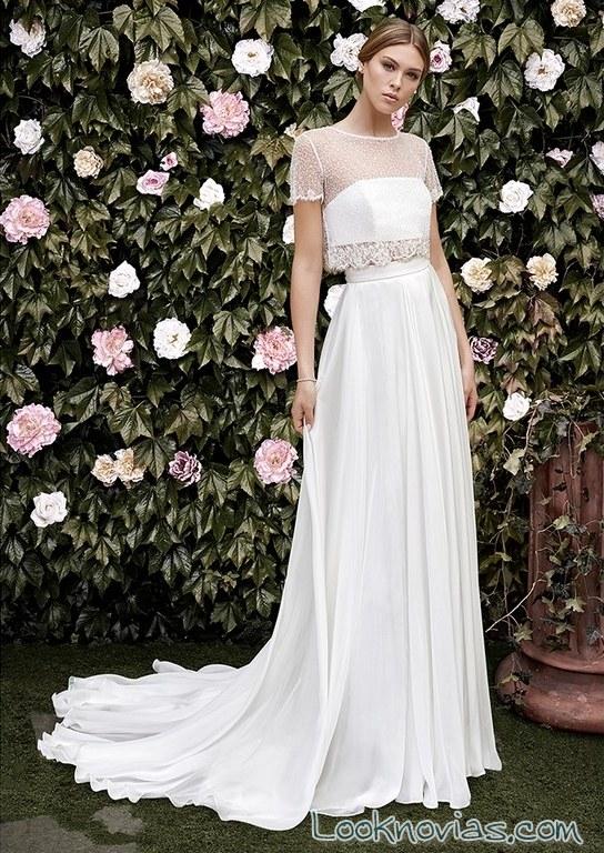 vestido novias escote fantasía cristina tamborero