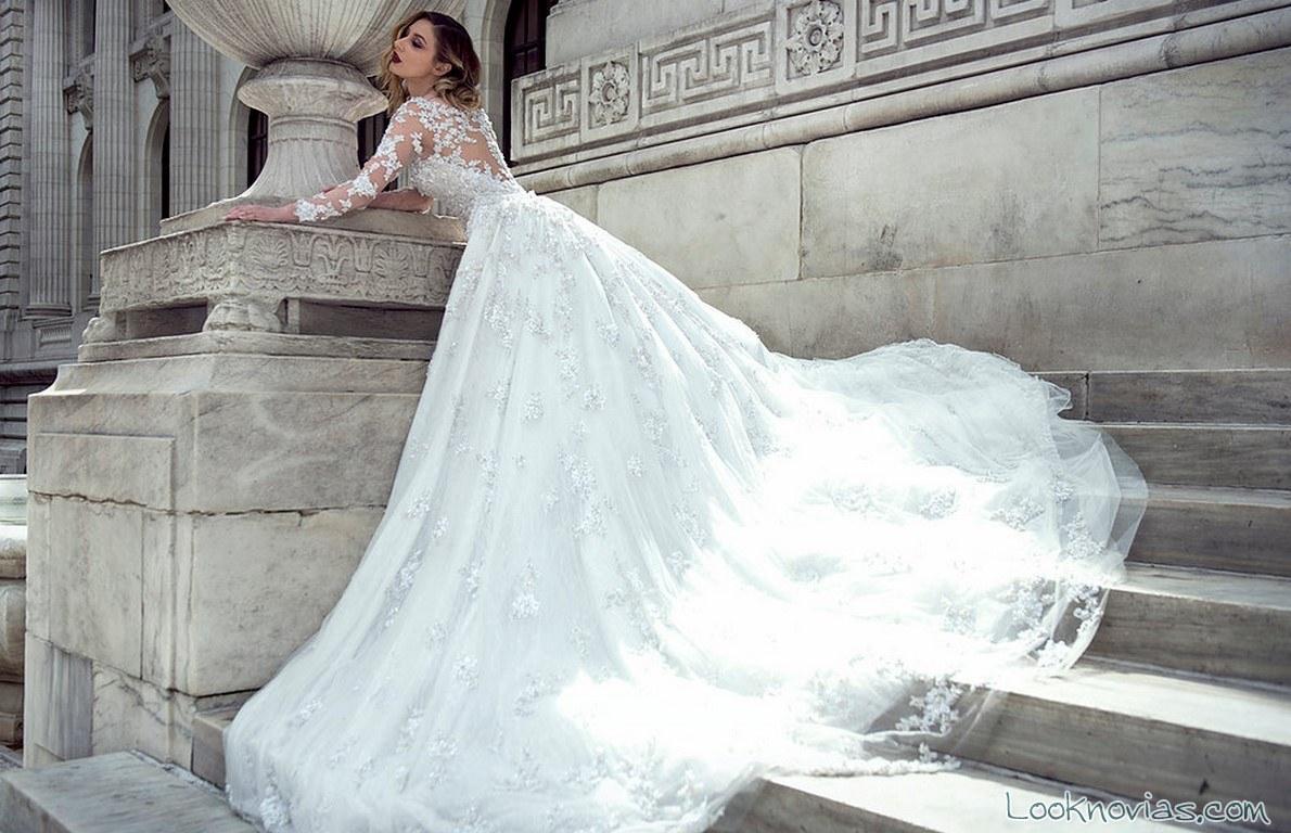 Famoso Vestido De Novia Yearick Stephen Ideas Ornamento Elaboración ...