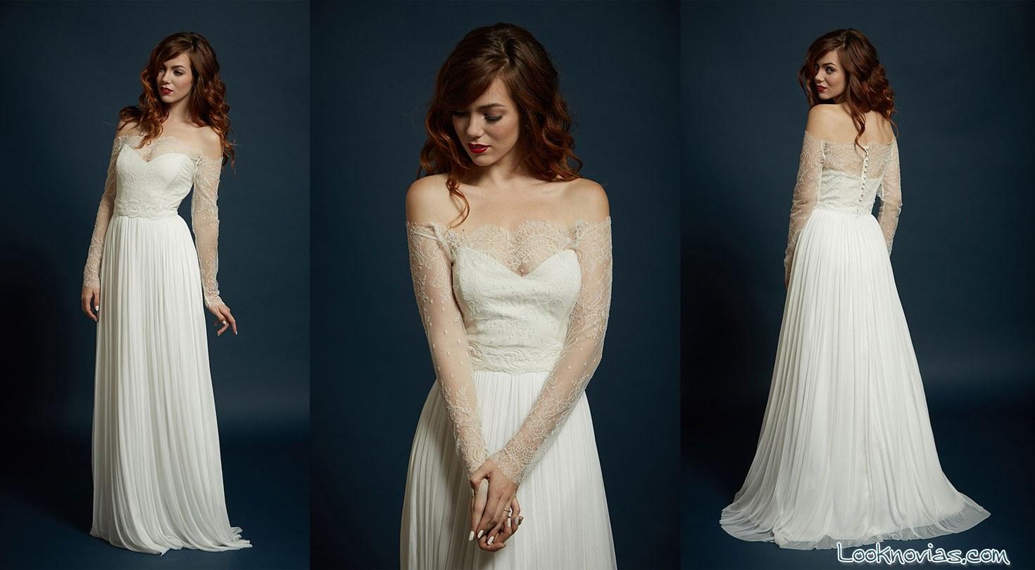 vestido original de Rebecca Schoneveld