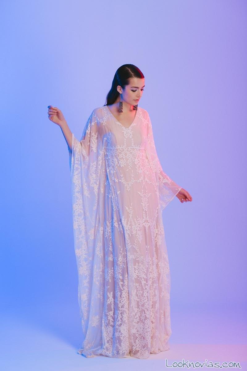 vestido otaduy efecto capa