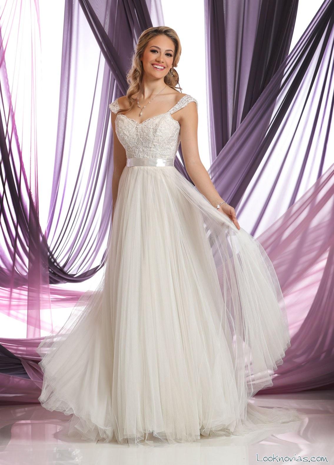 vestido plisado novias da vinci
