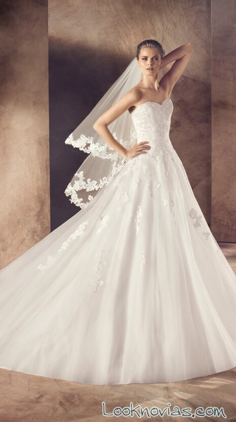 vestido princesa 2016 avenue diagonal
