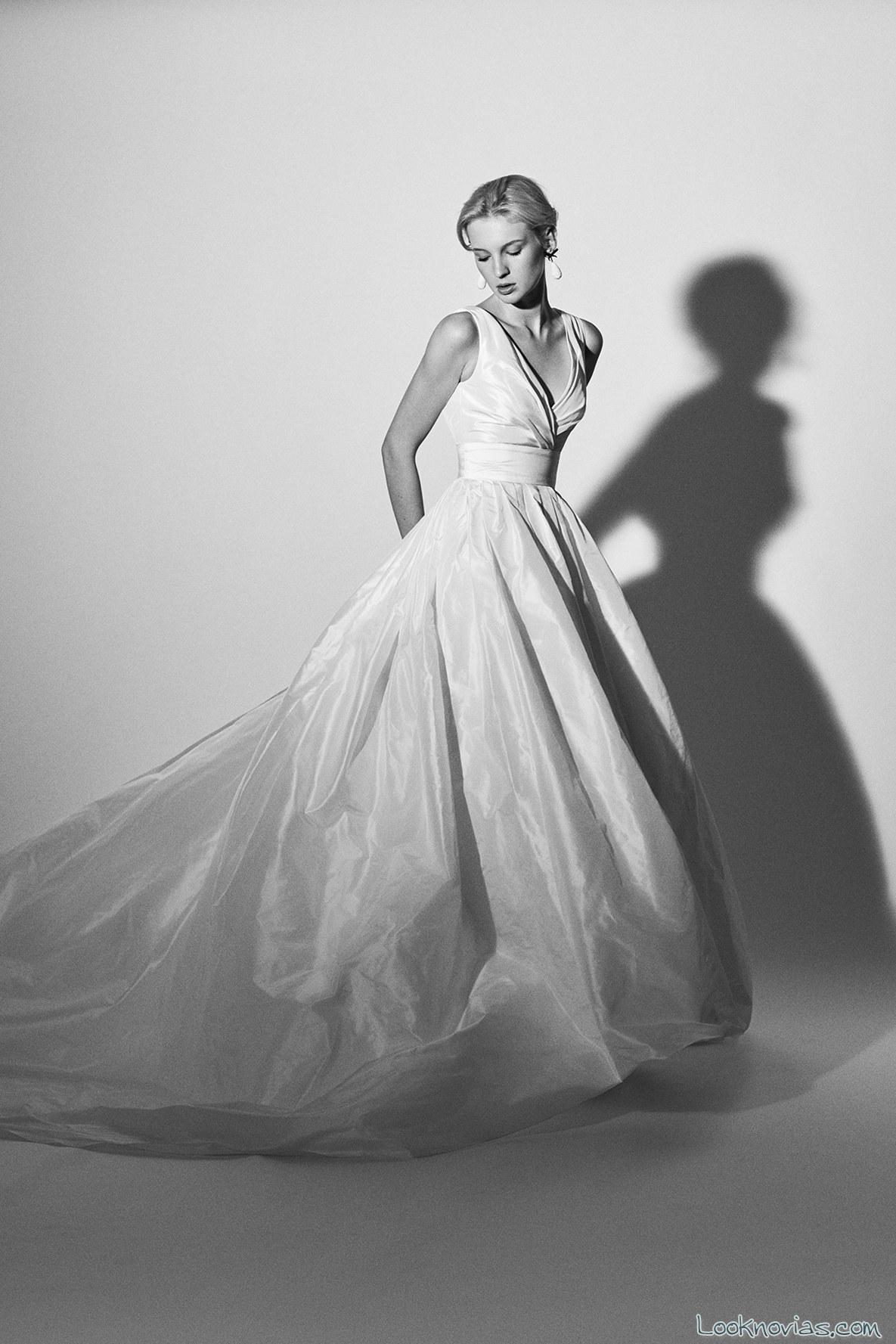 vestido princesa carolina herrera novias
