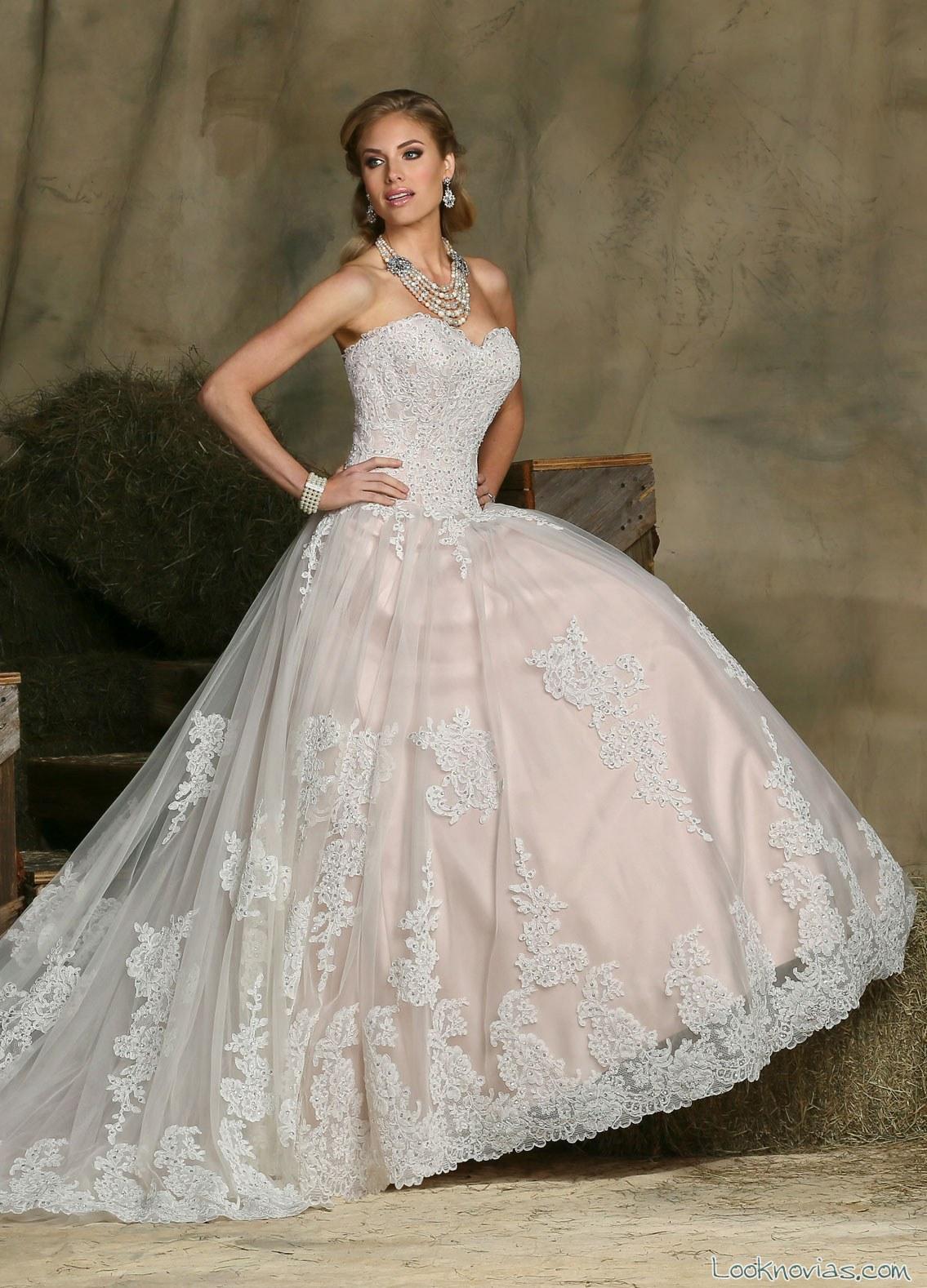 vestido princesa de davinci bridal