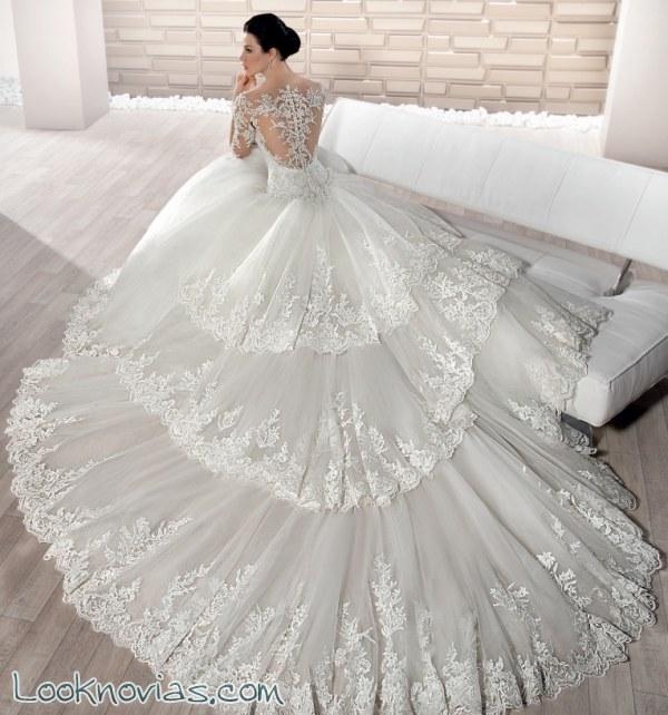 Vestidos increíbles de corte princesa