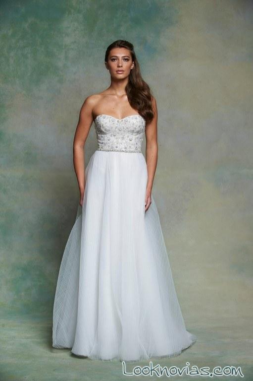 vestido princesa enaura bridal 2016