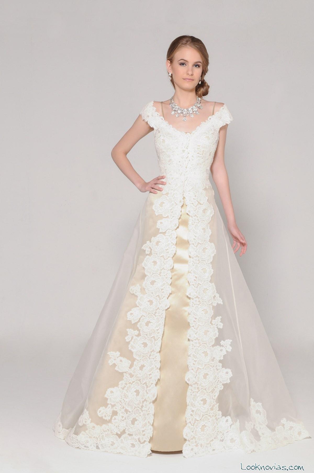 Cuatro vestidos de Eugenia Couture