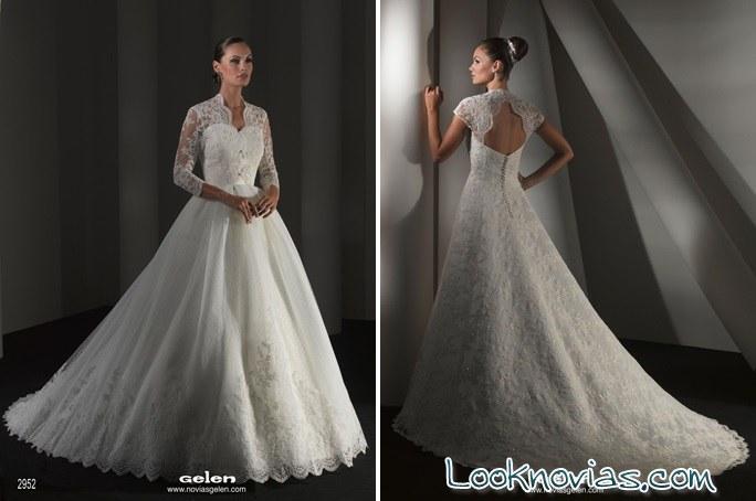 vestidos gelen novias hechos a medida