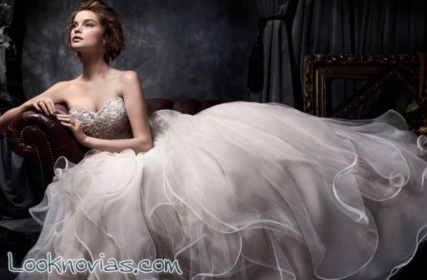 Grandes ideas en forma de vestidos para novia