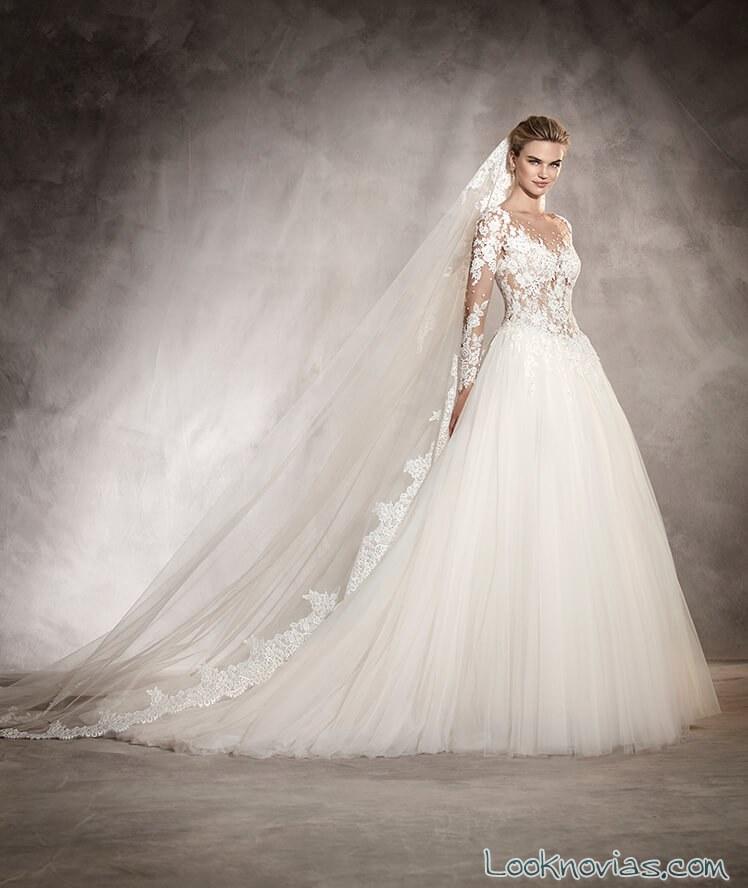 vestidos princesa pronovias 2017