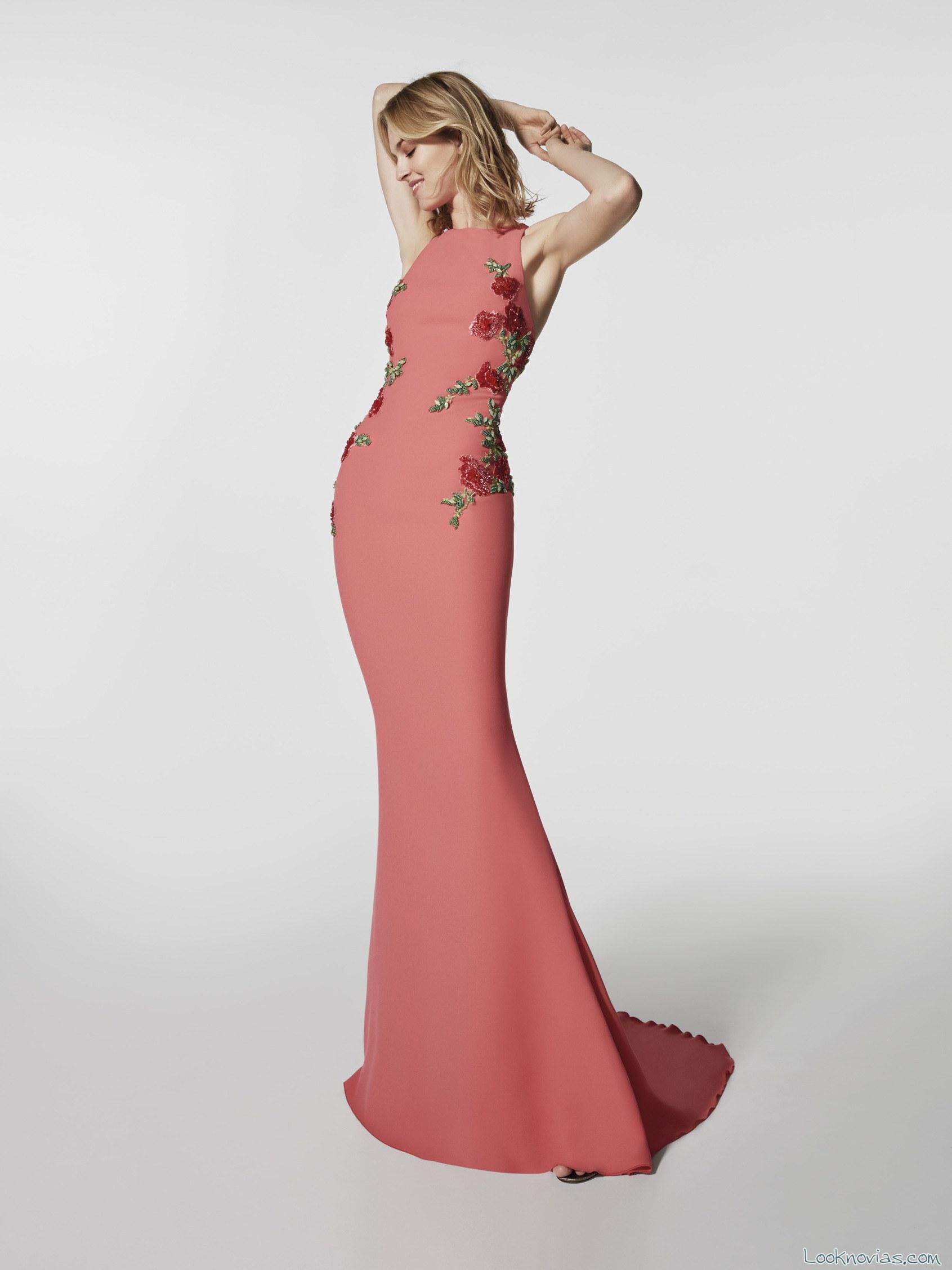 vestido recto avance colección 2018