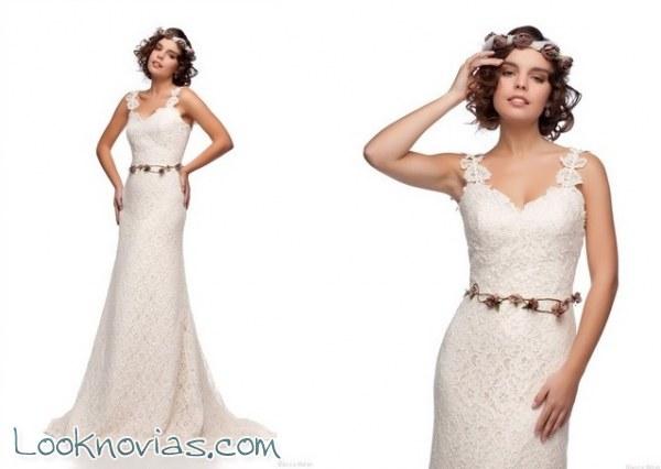 Pinceladas vintage para estos vestidos tan elegantes