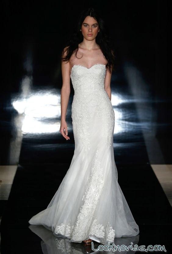 vestido recto blanco reem acra 2017