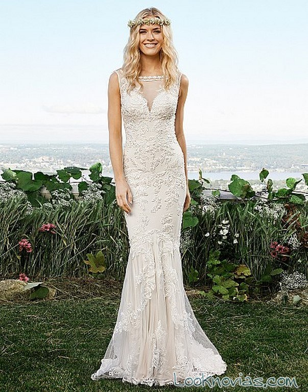 vestido recto bordados lillian