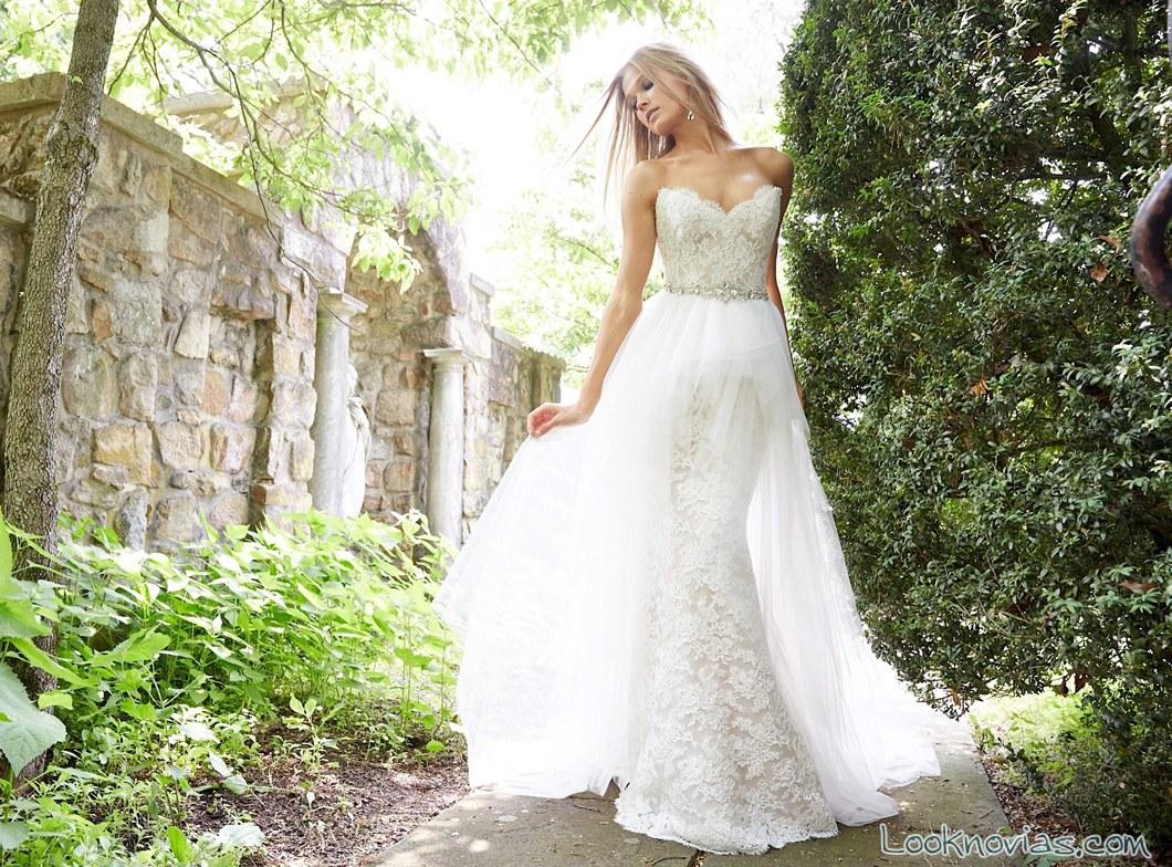 vestido recto con transparencias alvina valenta