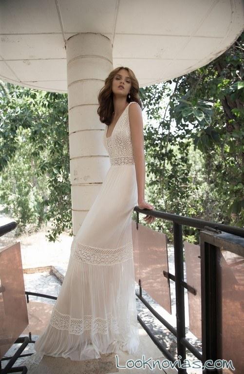 vestido recto flora bridal