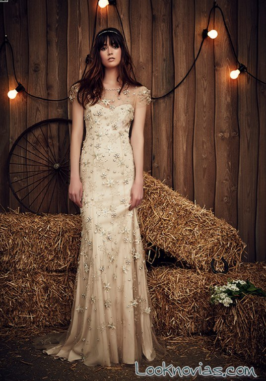 vestido recto jenny packham