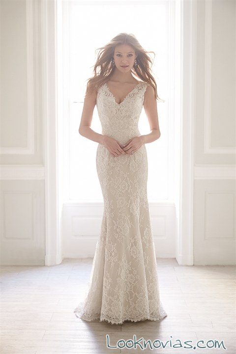 vestido recto madison james 2015