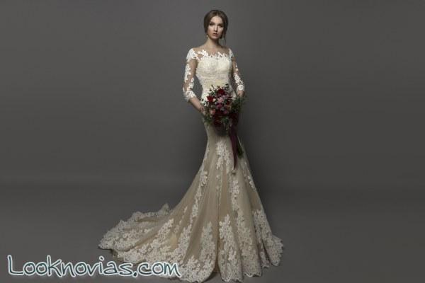 Para las novias modernas, vestidos especiales