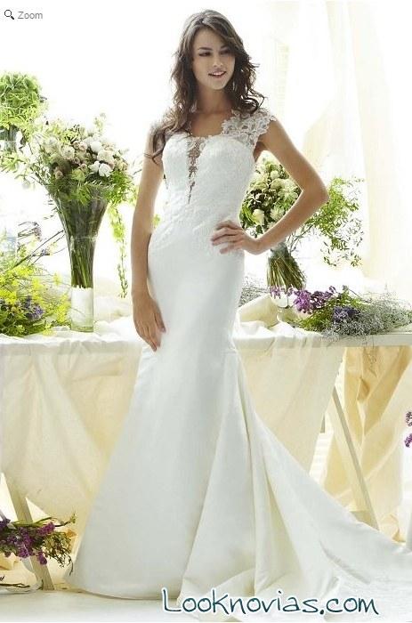 vestido romántico Saison Blanche