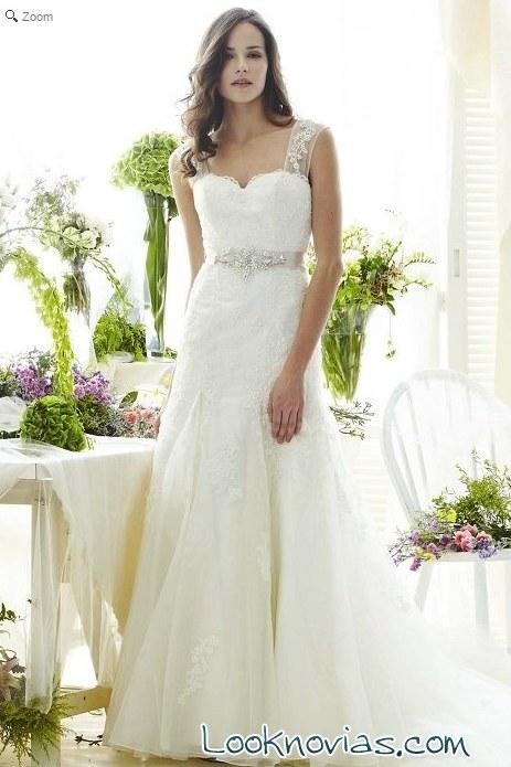 vestido Saison blanche en blanco