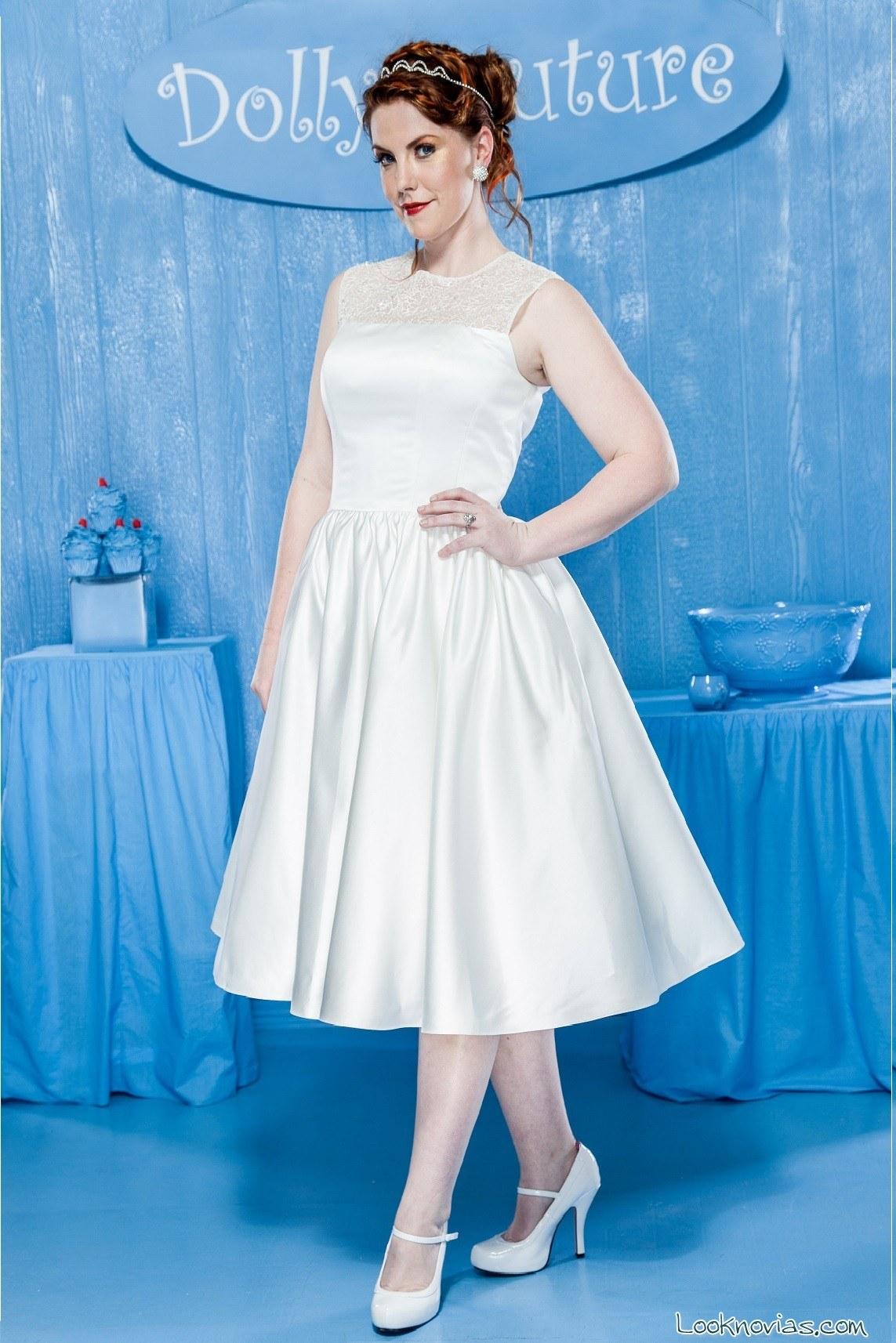 Vestidos cortos y de estilo vintage por Dolly Couture