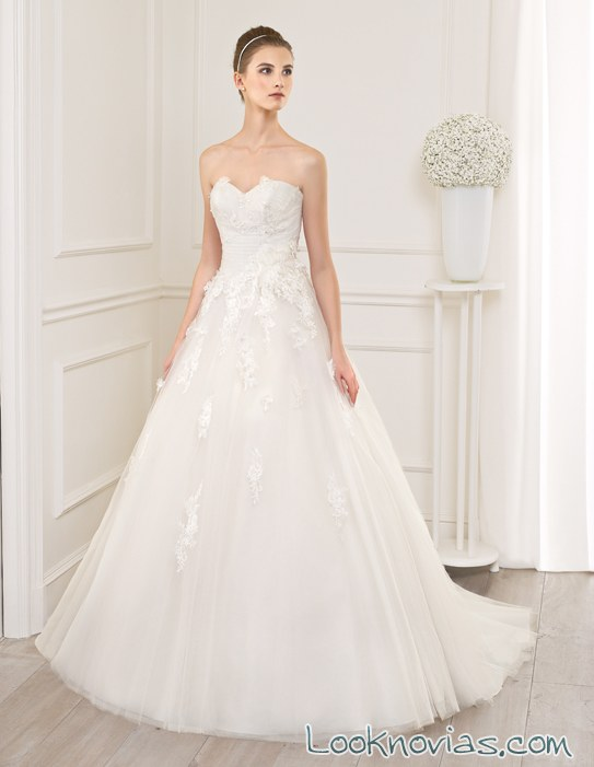 Vestidos para novia por Adriana Alier